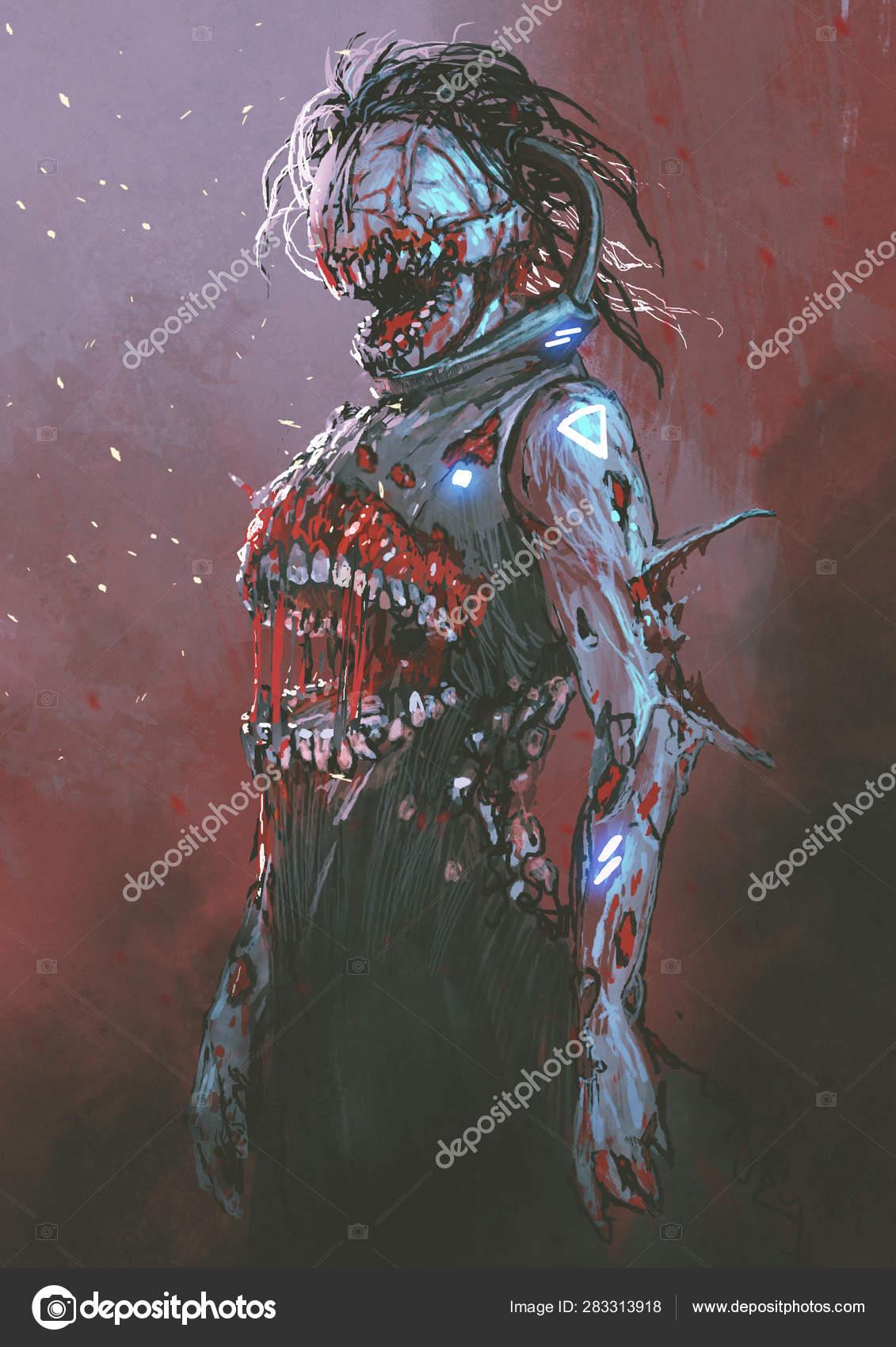 Fantasy Art Undead Swamp
