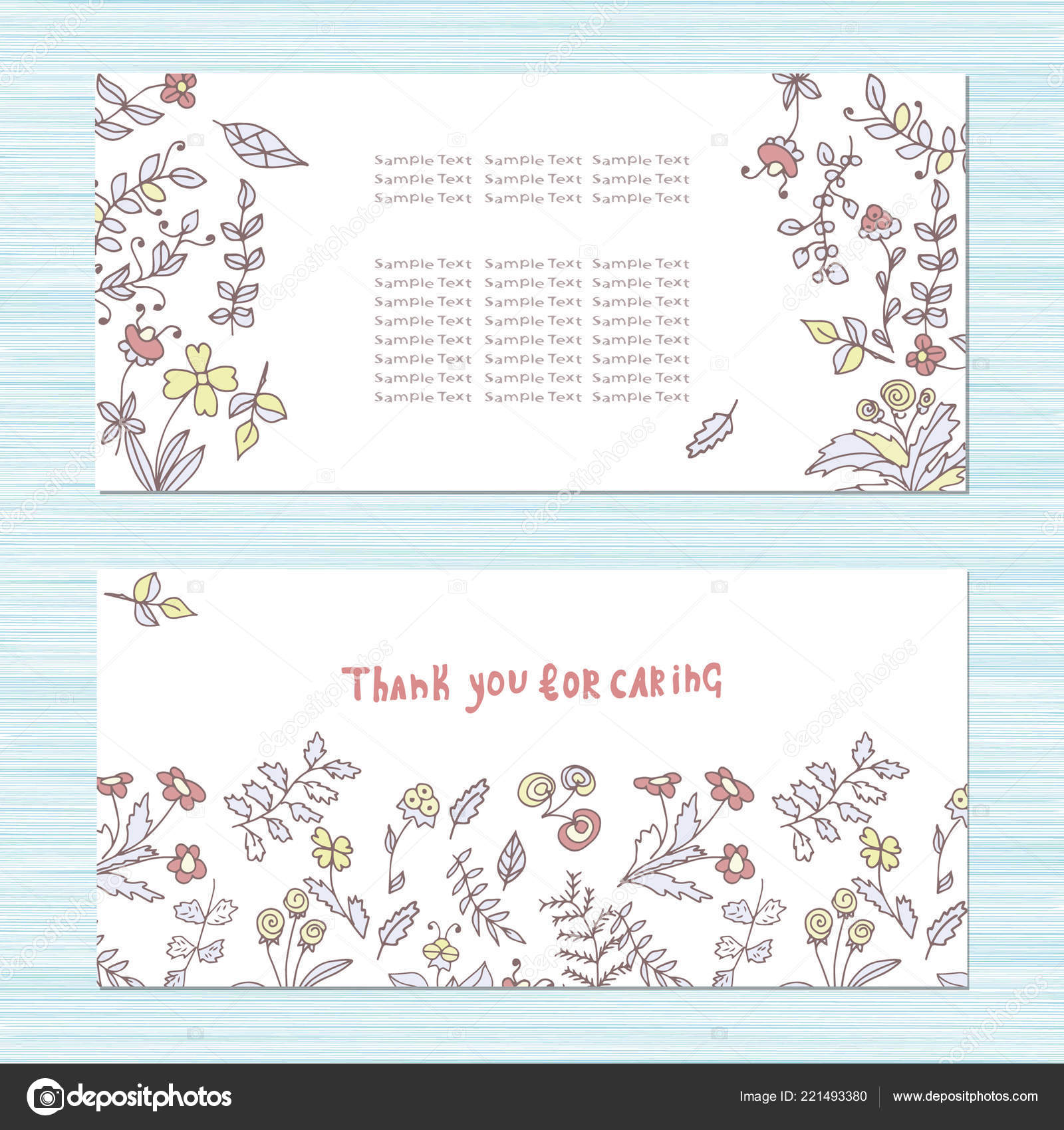 Congratulations Invitation Card And Envelope Pattern With