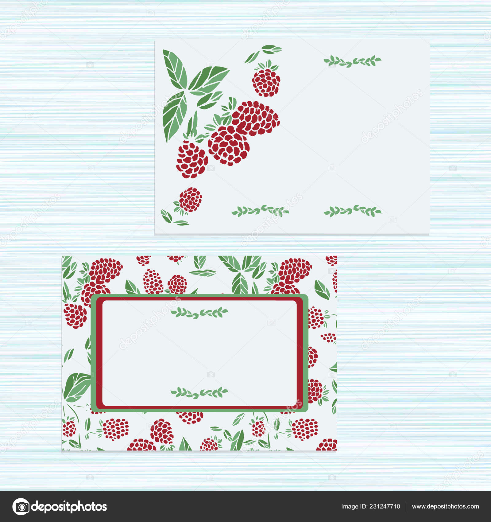 Template Raspberries Wedding Invitation Congratulations On Your