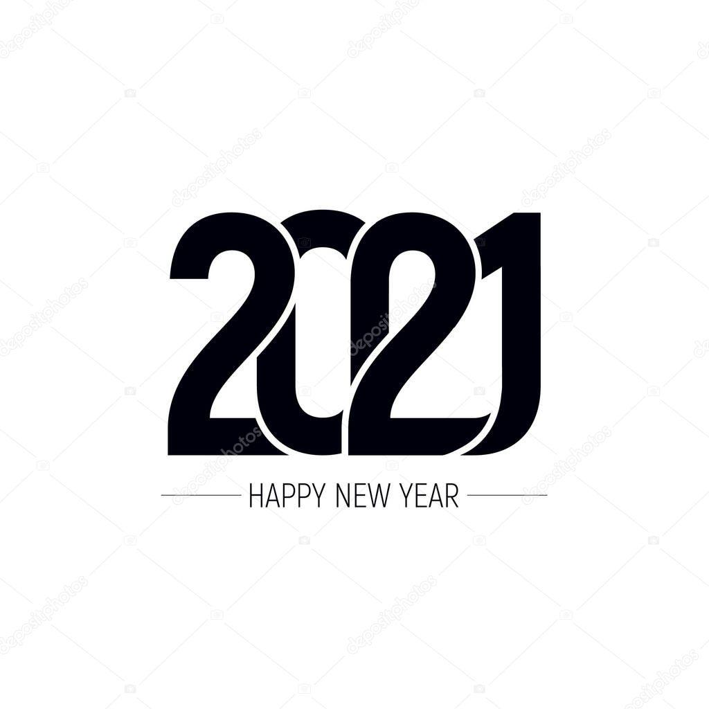 Happy New Year 2021 Text Design Patter Vector Illustration Premium Vector In Adobe Illustrator Ai Ai Format Encapsulated Postscript Eps Eps Format