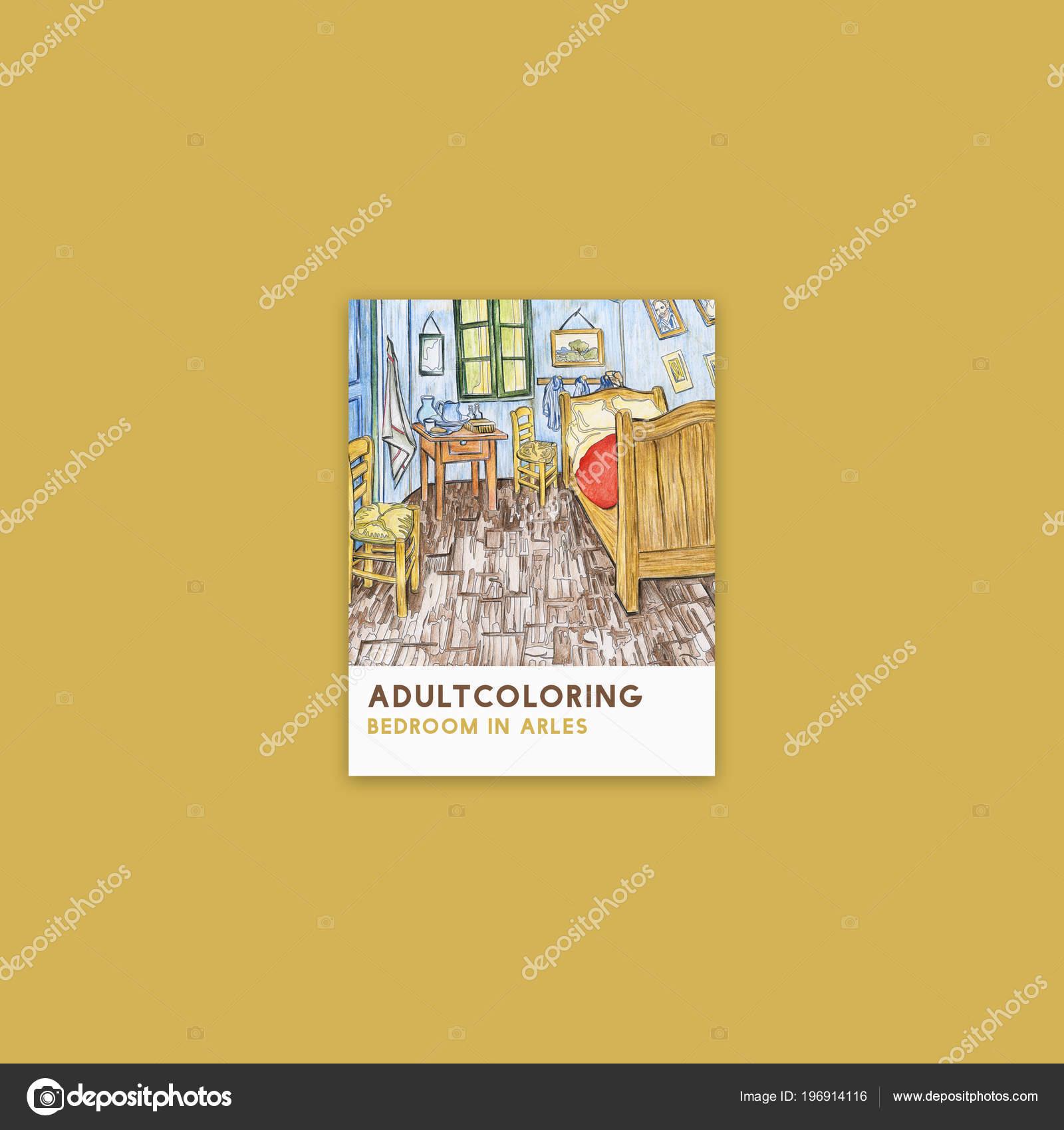 Sypialnia Arles 1888 Przez Vincent Van Gogh Kolorowanki Dla