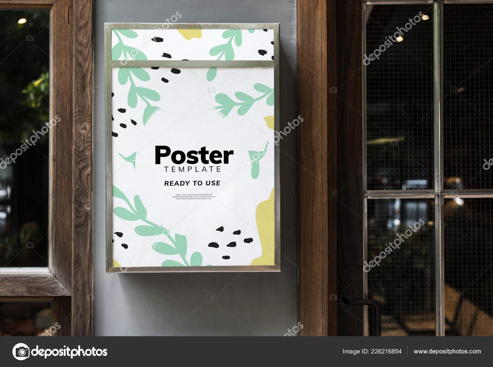 Modern Restaurant Signage Colorful Restaurant Signage Mockup Design Stock Photo C Rawpixel 226216854