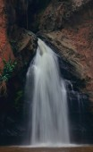 Beautiful waterfall in the mountains.Chattrakran national park in Phitsanulok Thailand