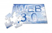 WEB 3.0 - concept image in puzzle shap