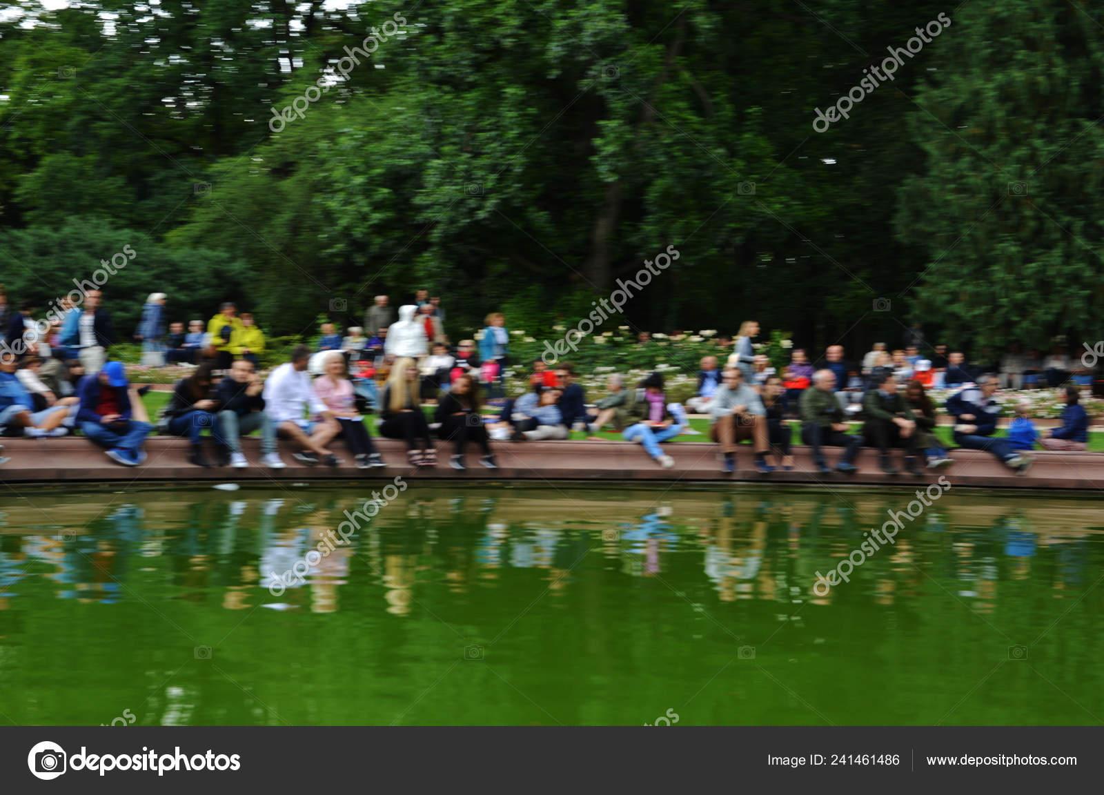 Unrecognizable People Concerts Royal Lazienki Park Warsaw