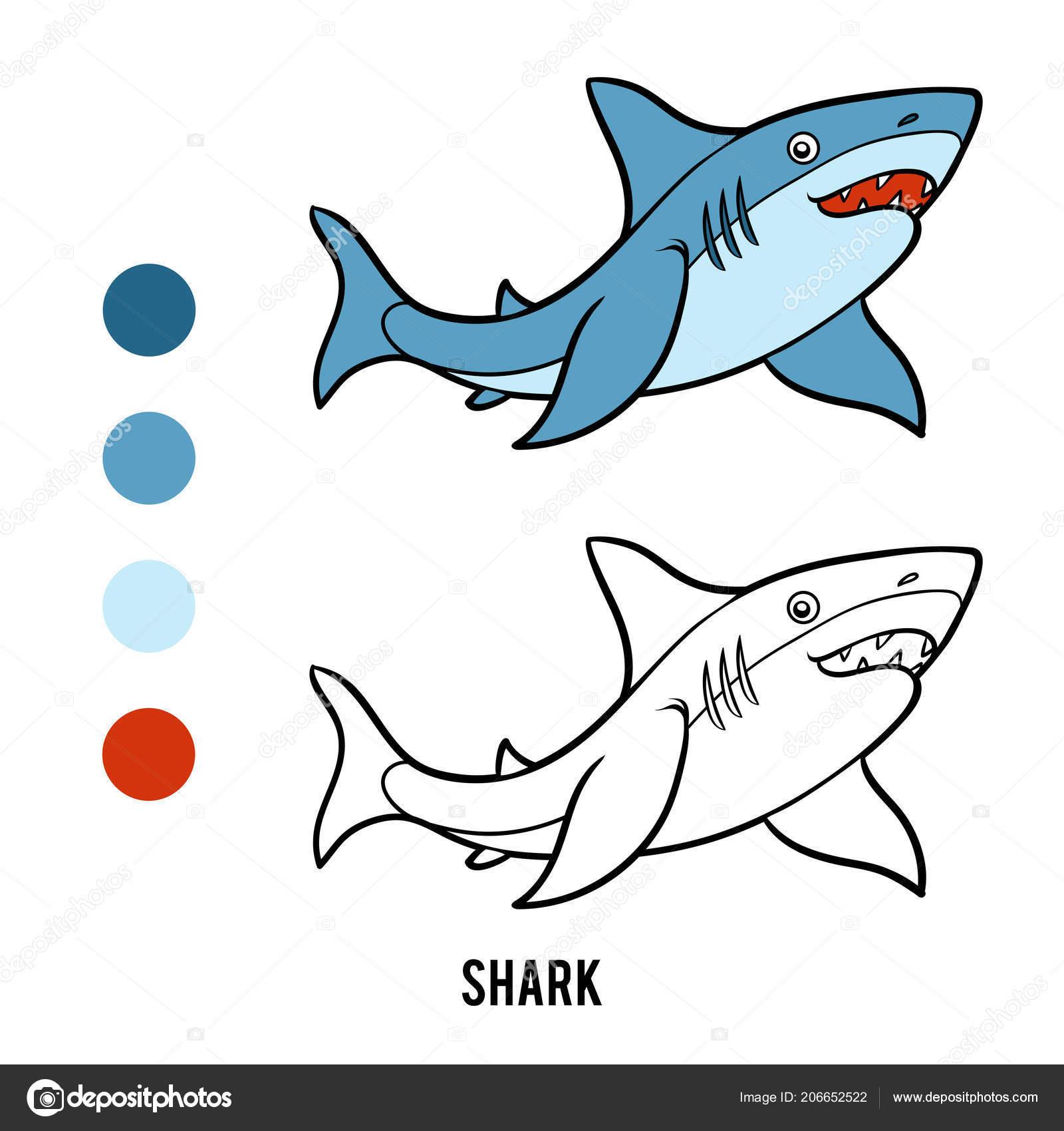 Libro Colorear Para Niños Dibujos Animados Animales