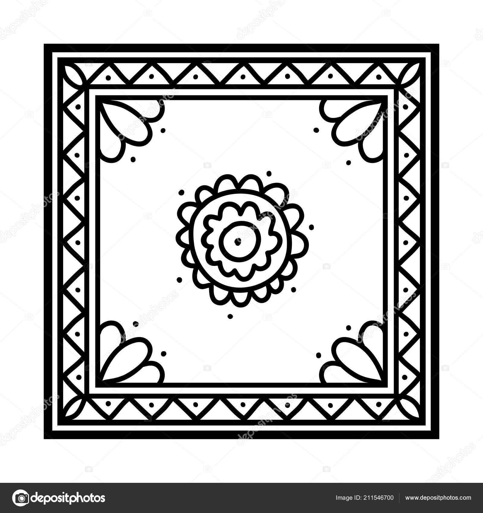 раскраска детей шелковый платок векторное изображение