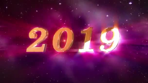 New Year 2019 opening Animation
