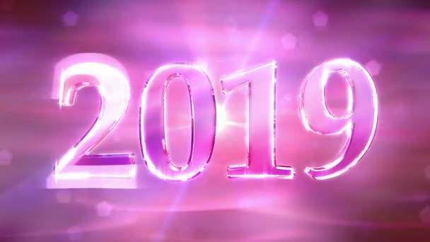 Új év 2019 háttér