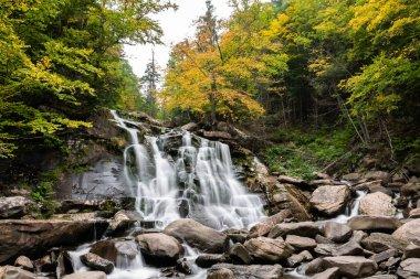 Bastion Water Falls during fall