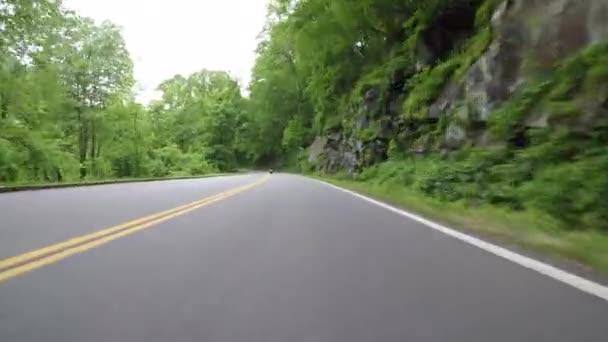 Na začátku léta po motocykl ve velkých Smokyších horách