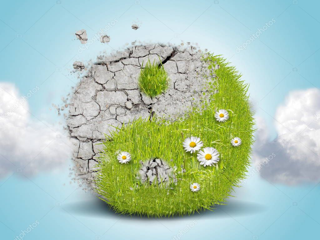 Jing jang green ground energy