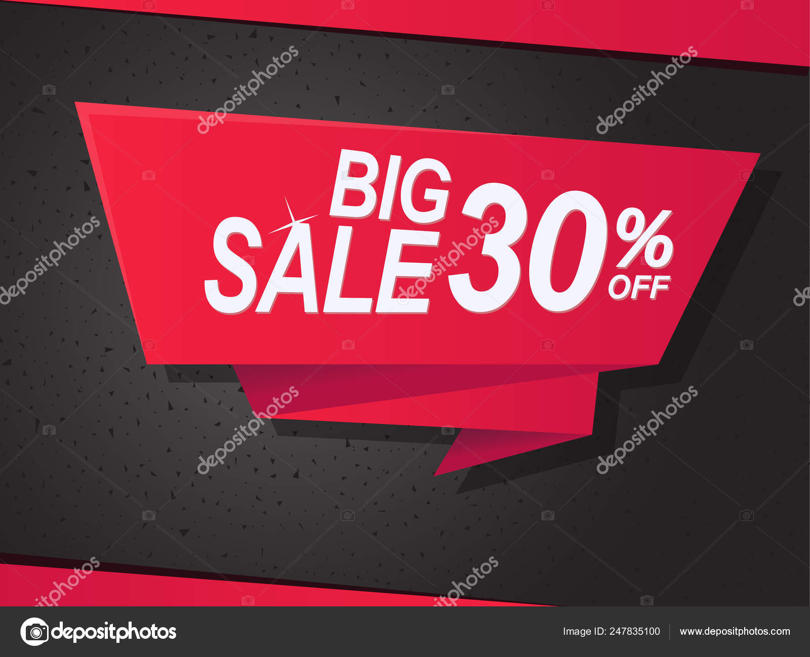 Sale Shop Product Tag Label Or Sale Poster Realistic Paper