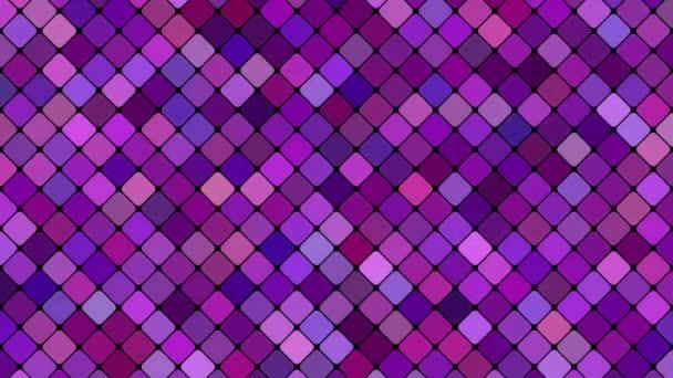 Lila absztrakt négyszög alapú, mozaik mintás háttérrel - varrat nélküli hurok