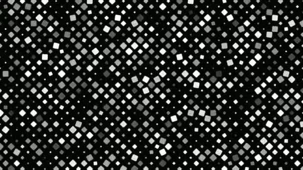 Abstraktní čtvercový vzor pozadí - bezešvé smyčka