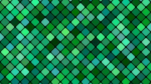 Abstract diagonal square mosaic pattern background - seamless loo