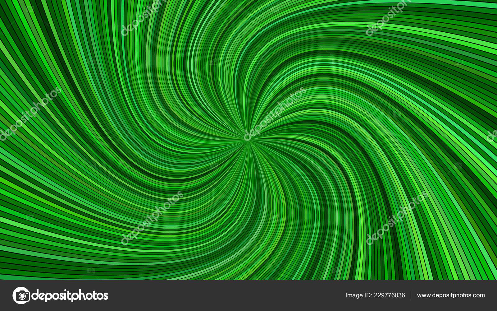 Sfondo Hd Verde Verde Sfondo Striscia A Spirale Astratto