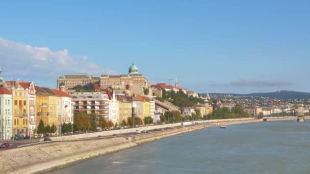 Budai vár hyperlapse a Szabadság hídról