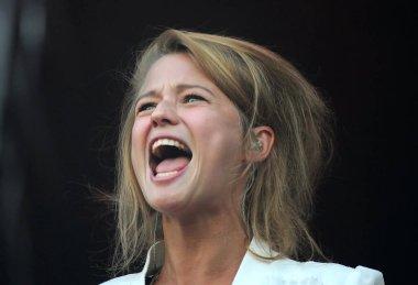 Rio de Janeiro, September 13, 2013.Singer Selah Sue, during a show at Rock in Rio in the city of Rio de Janeiro.