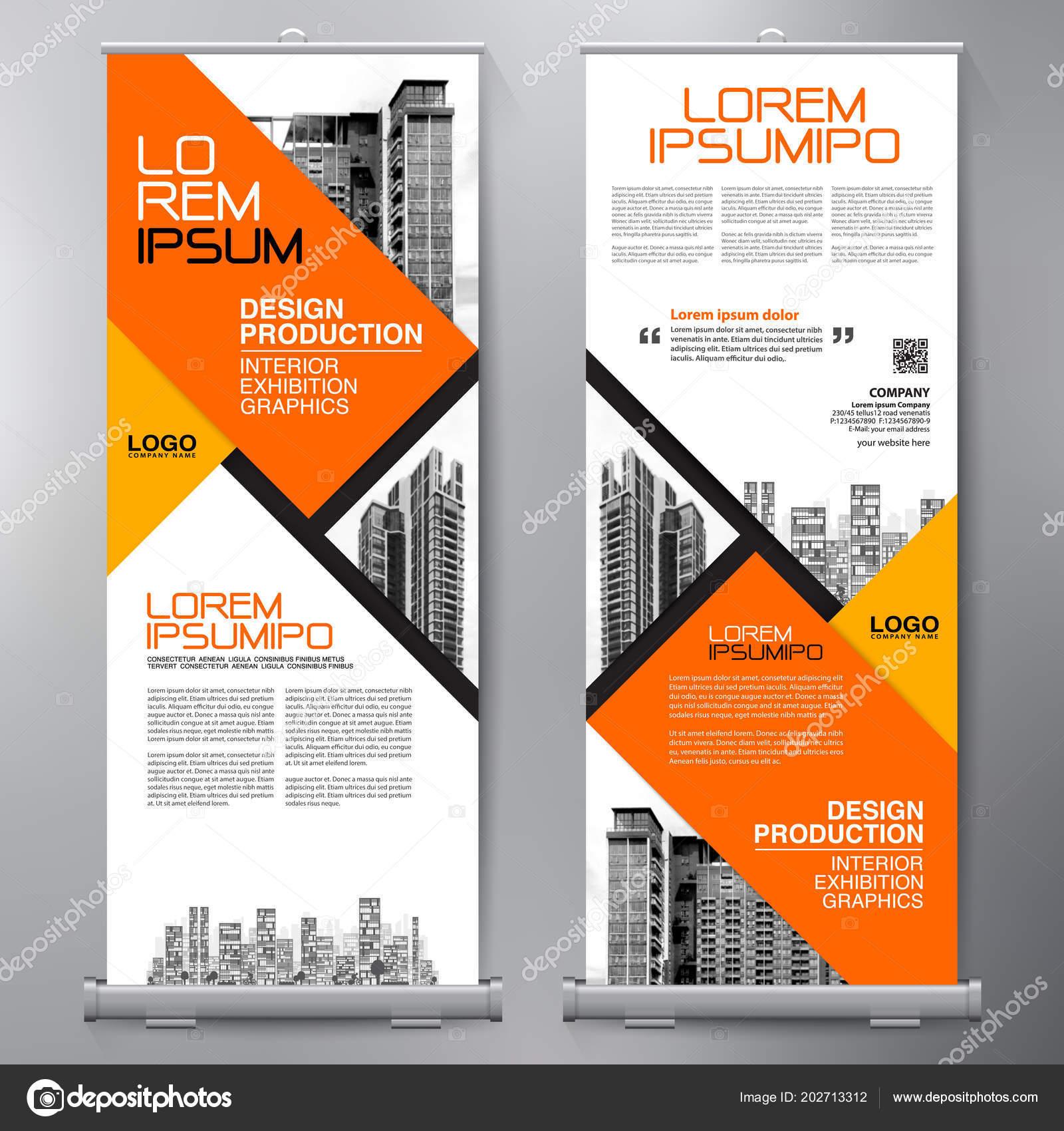 Feche Negócio Design Cartaz Modelo Banner Apresentação