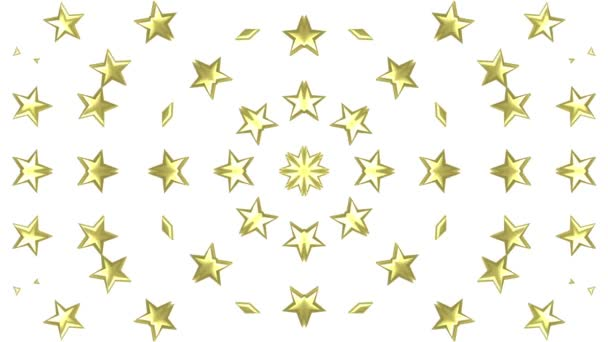 Stars rotating animation 3d background seamless loop