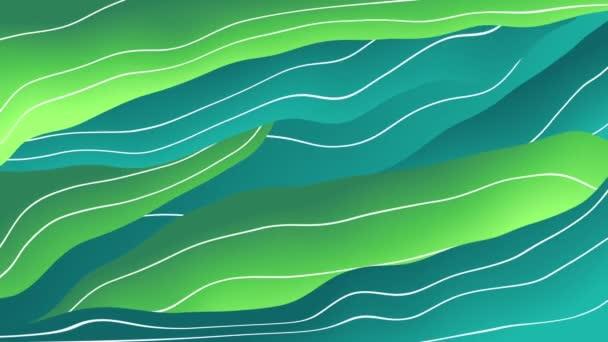 Mozgó színes vonalak elvont háttér