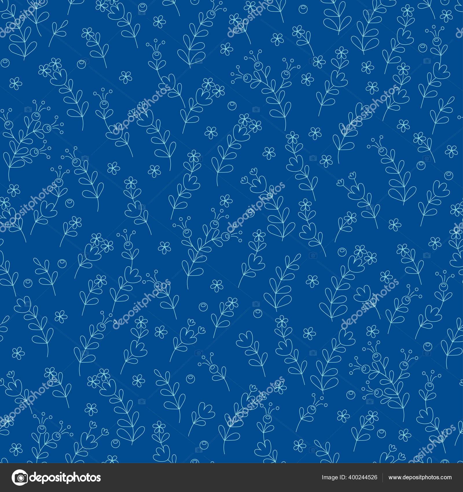 Pola Bunga Mulus Dari Bunga Abstrak Dan Daun Untuk Tekstil Stok Vektor C Evamarina 400244526