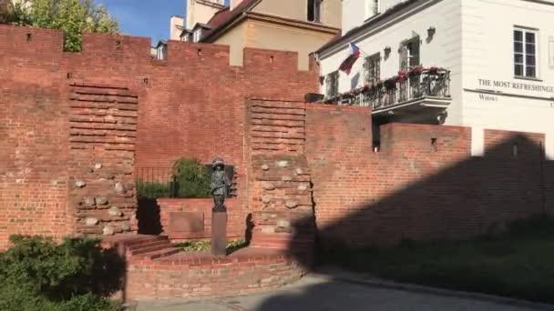 Warszawa, Poland, A large brick building