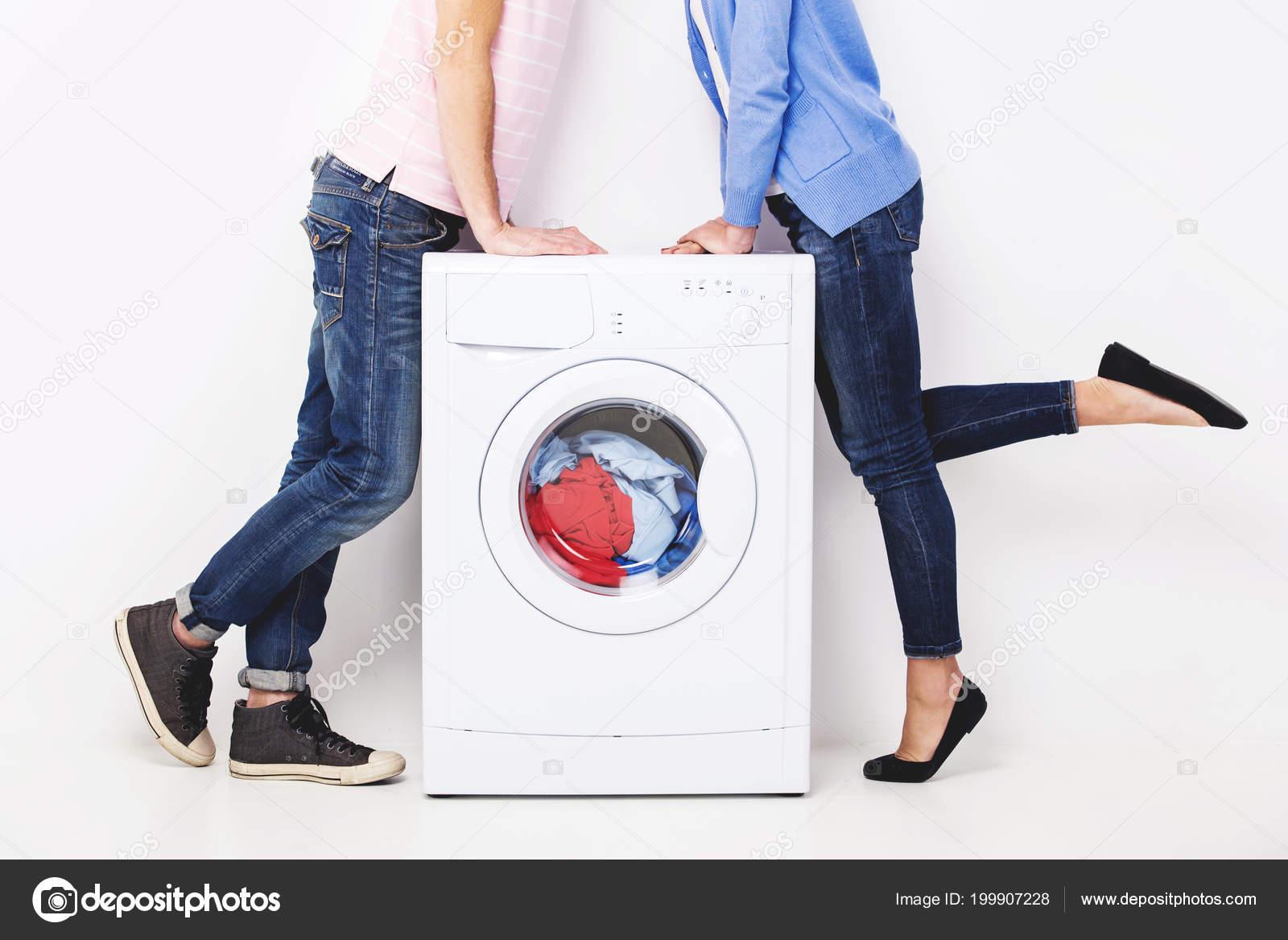 Washing machine kiss