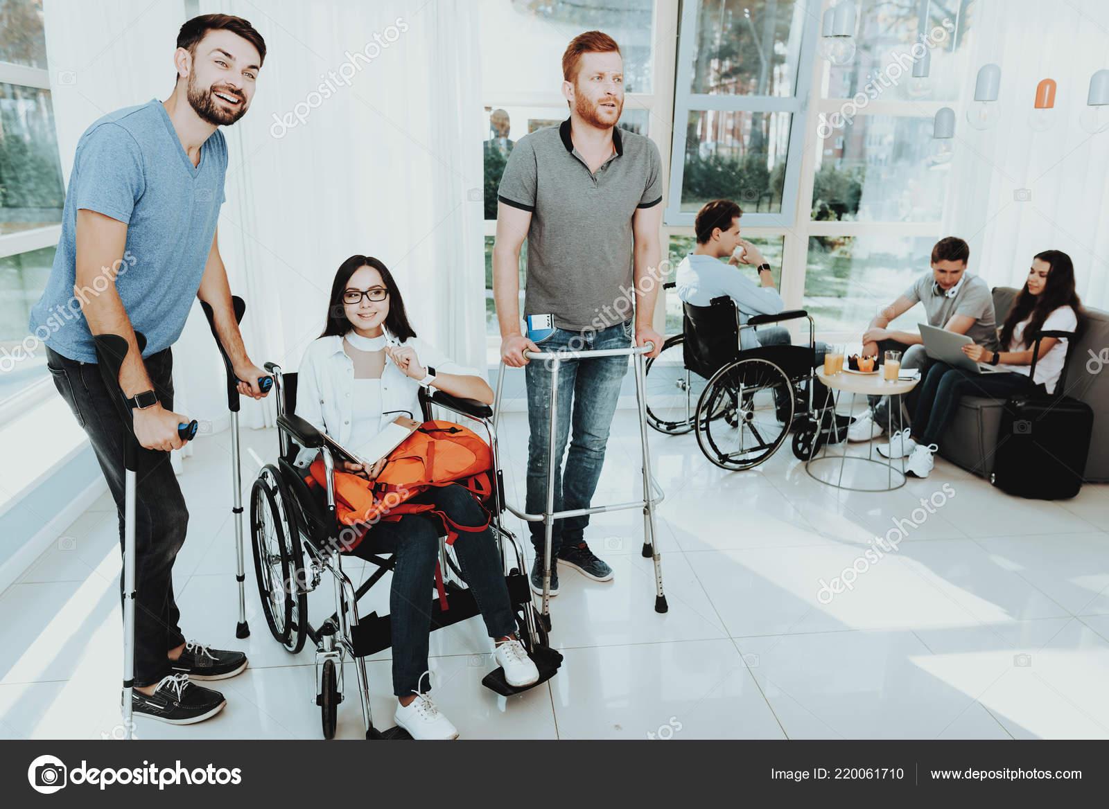 Silla Personas Salón Con Discapacidad Ruedas Mujer Ajc43LR5q