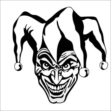vector logo logotype art joker clown illustrationart joker vector logo logotype hat smile jester  goblin styx joker ugly  funny, critical role, scary, creepypasta, draw my life, dungeons & dragons, d&d, laura bailey, talent, mighty nein, draw, horror