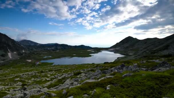 Amazing Timelapse from Kamenitsa peak, Pirin Mountain, Bulgaria.