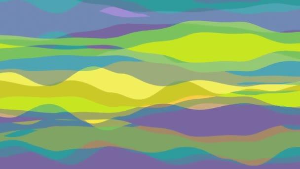 lapos csíkos hullám animáció