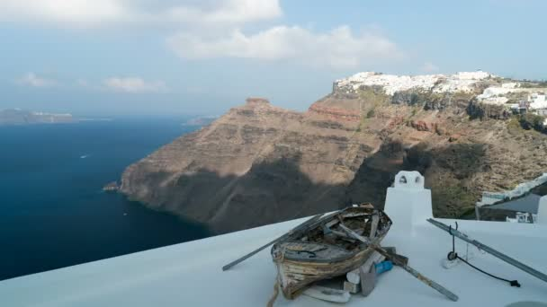 view from Thira to Imerovigli