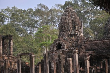 Ankor Wat Ancient Temple Ruins