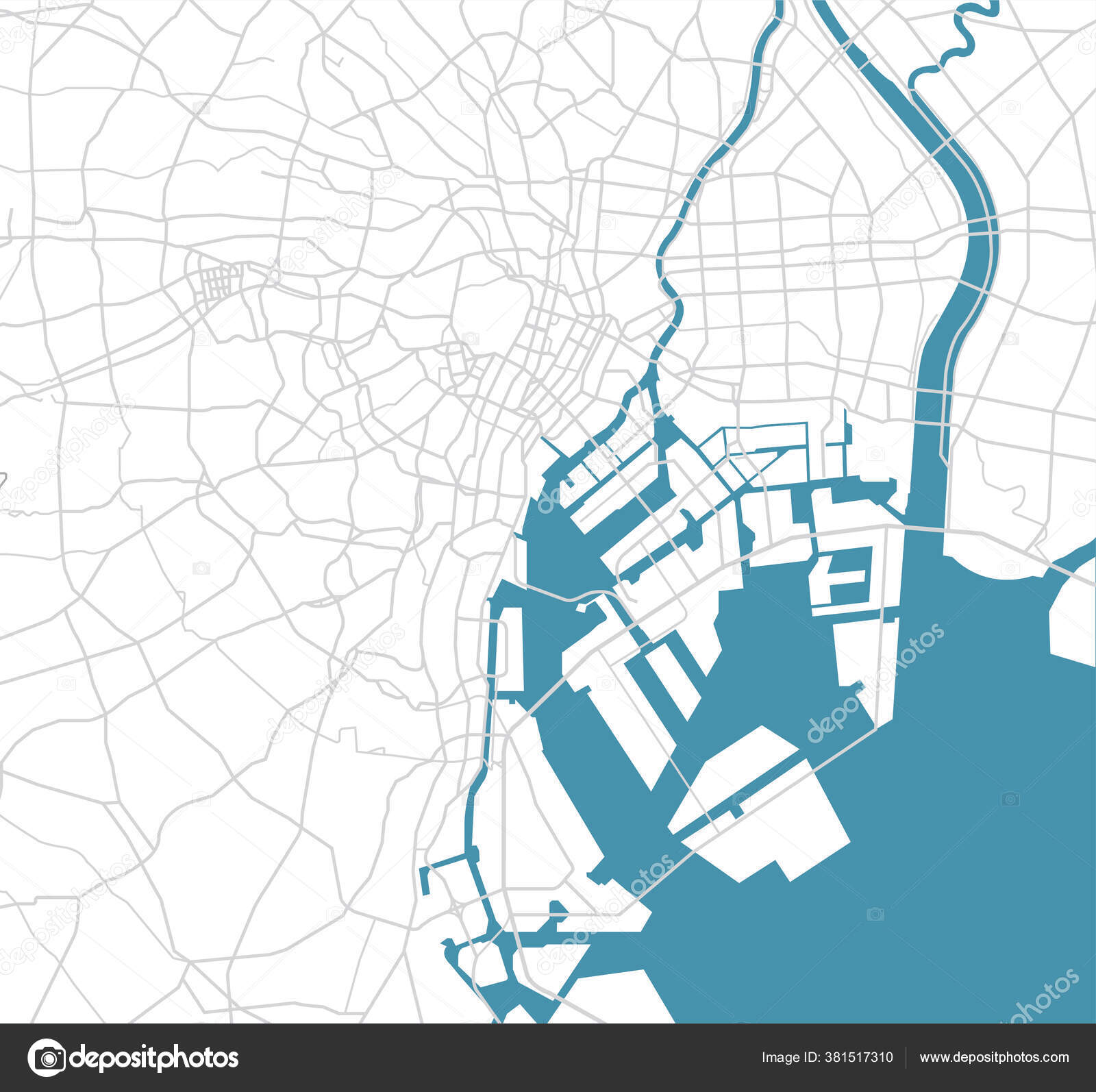 Áˆ Bay Area Map Stock Vectors Royalty Free Bay Area Map Illustrations Download On Depositphotos Would love to have this map in a kid's room. https depositphotos com 381517310 stock illustration tokyo bay area road map html
