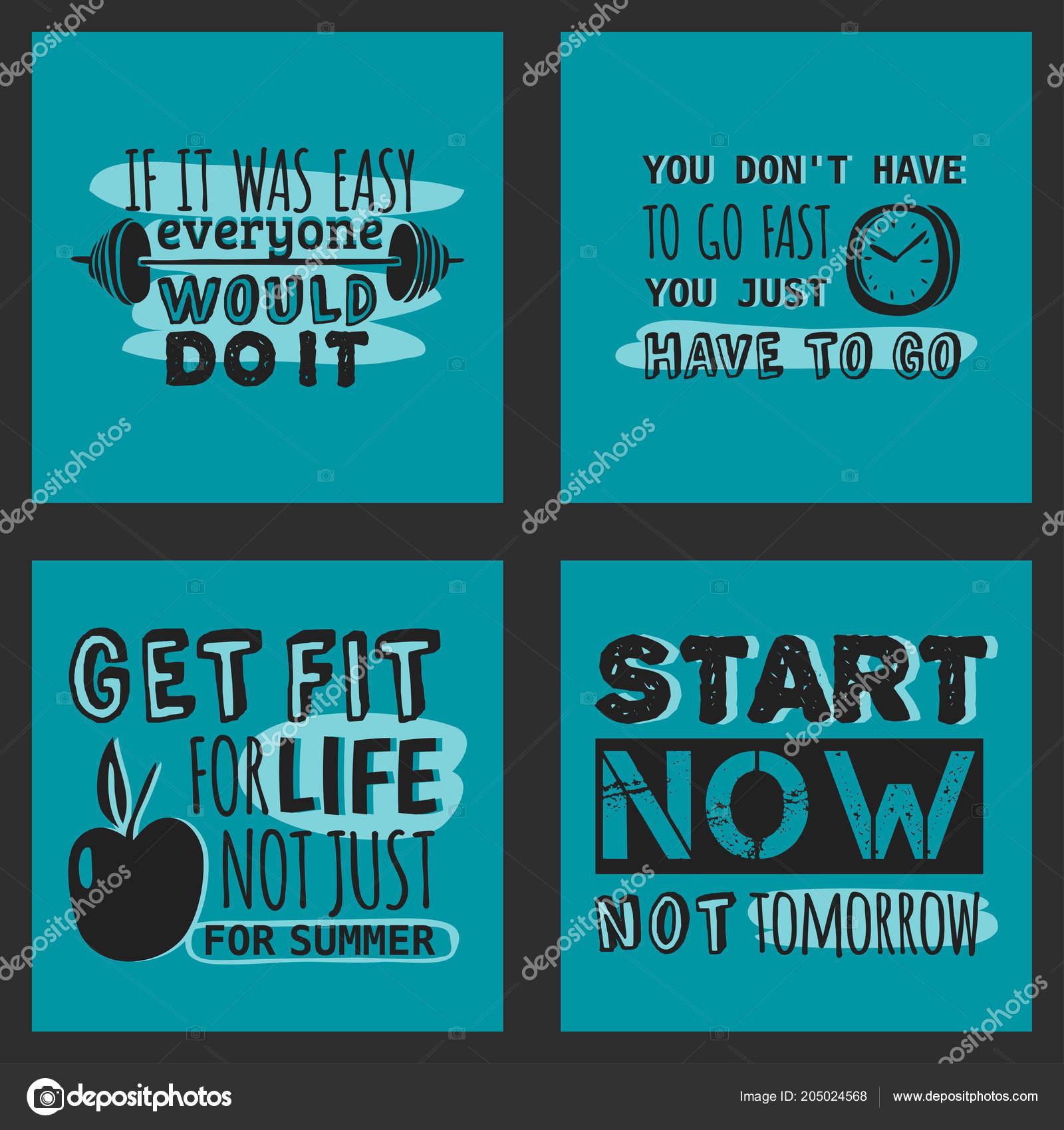 Esporte Motivacional Logo Vector Design Mão Desenhada