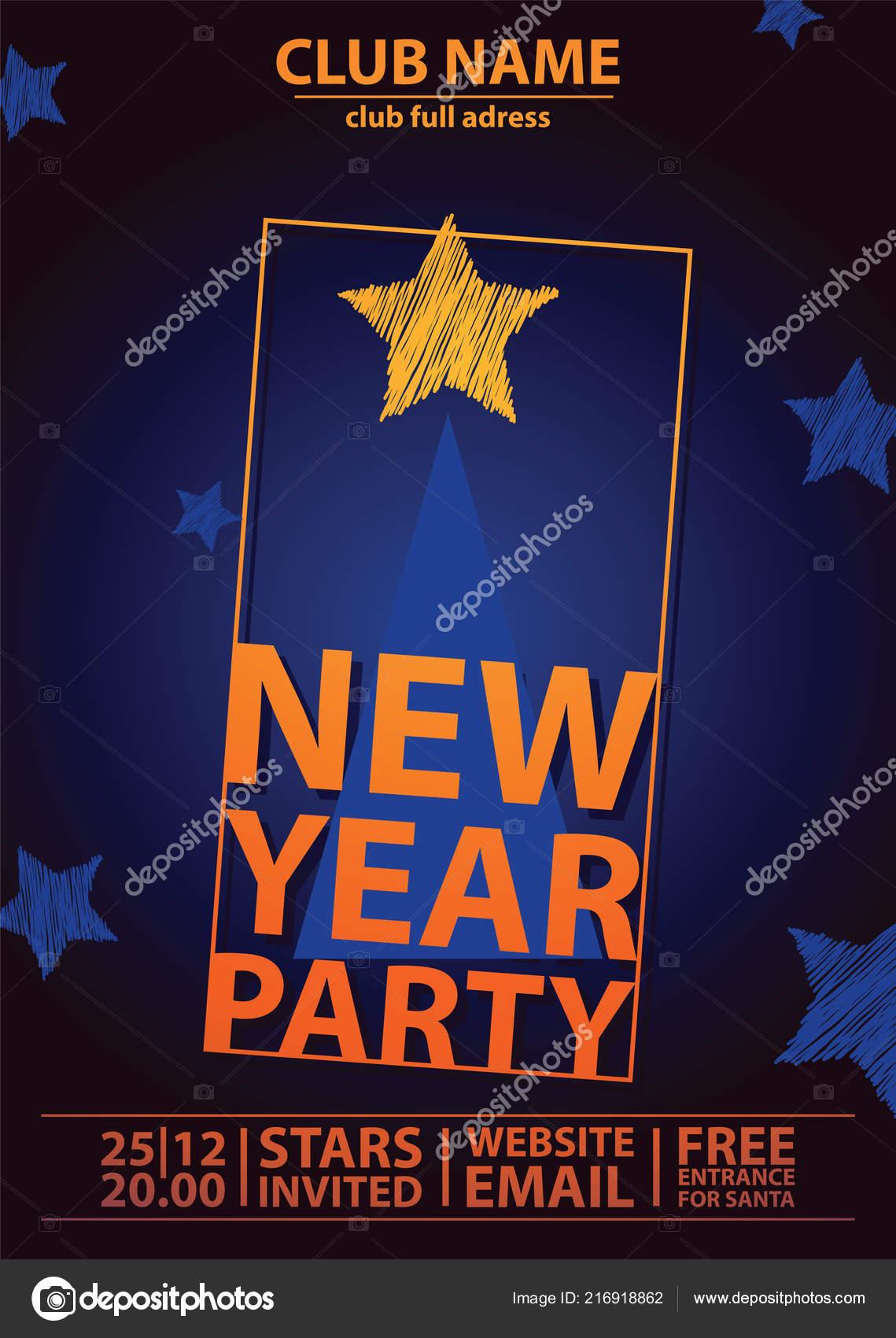 Weihnachten 2019 Musik.Weihnachten Einladung Party Vektor Vecrtical Plakat Karte