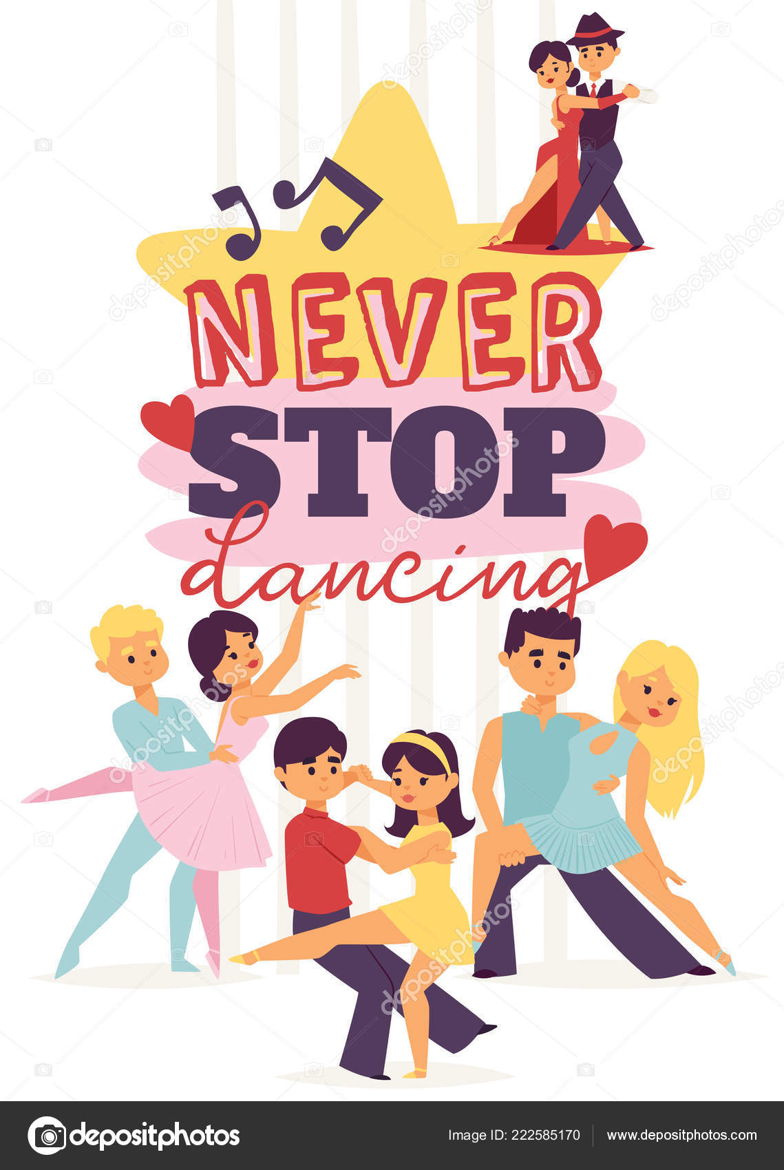 男と女の社交ダンスダンスをスポーツしますタンゴワルツラテン