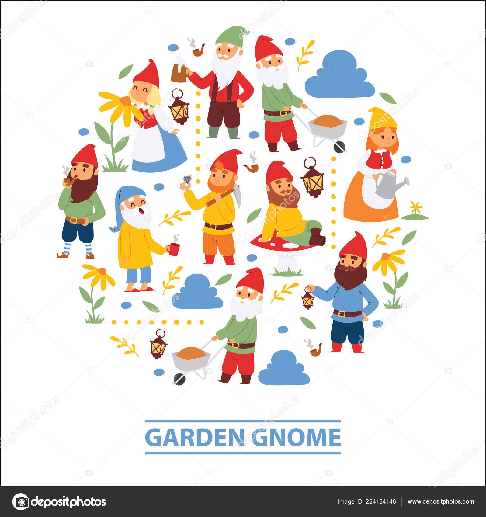 Fond d\'écran du personnages nains barbe nain de jardin et ...
