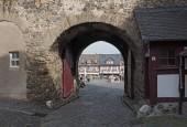 braunfels, deutschland-oktober 06, 2018: historische Fachwerkhäuser am markt in der altstadt braunfels, hessen, deutschland.