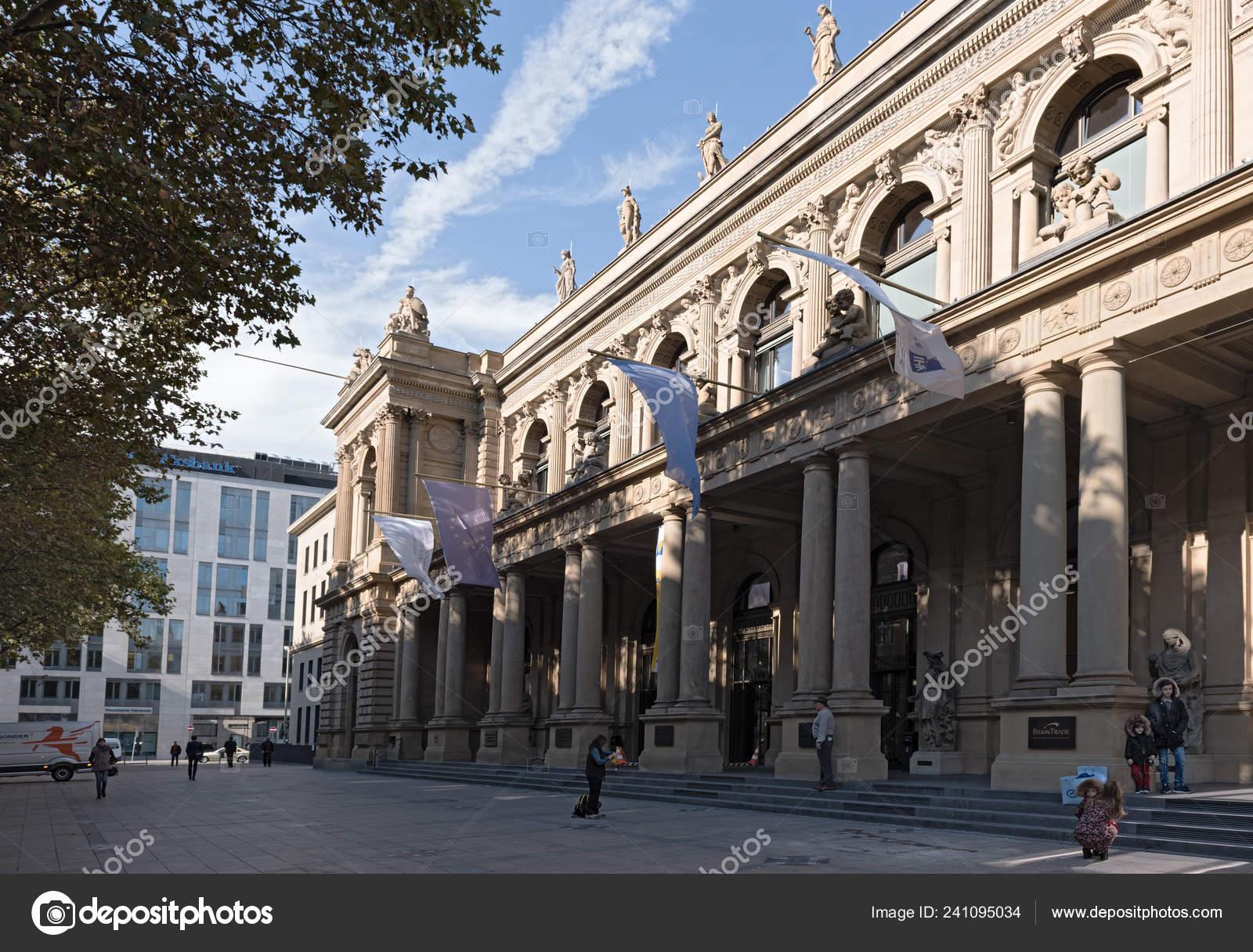Frankfurt 2017 Main Septiembre Edificio Fráncfort Alemania Del Bolsa QCrxhdst