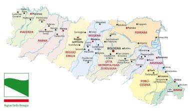 Emilia Romagna Cartina Province.Emilia Free Vector Eps Cdr Ai Svg Vector Illustration Graphic Art