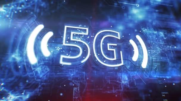 5G new wireless internet. Broadband Wireless Cellular. 5th generation of mobile communication.
