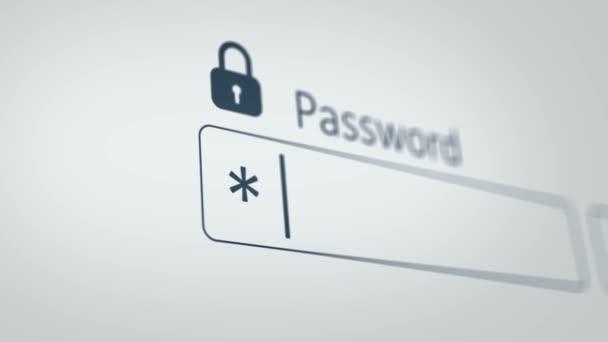 zadání hesla v počítači