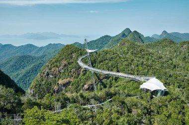 Sky bridge in Langkawi island, Malaysia