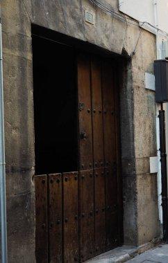 view of an old wooden door in ORDUA