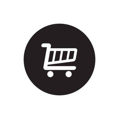 shopping cart icon circle design vector