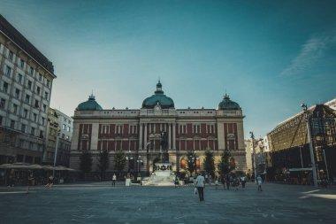 National Museum in Belgrade on the Republic Square, Serbia