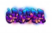 Fotografie Sandra Graffiti Name Text Design